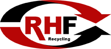 RHF GmbH – Recycling | Baumaschinen | Baumaterial Logo